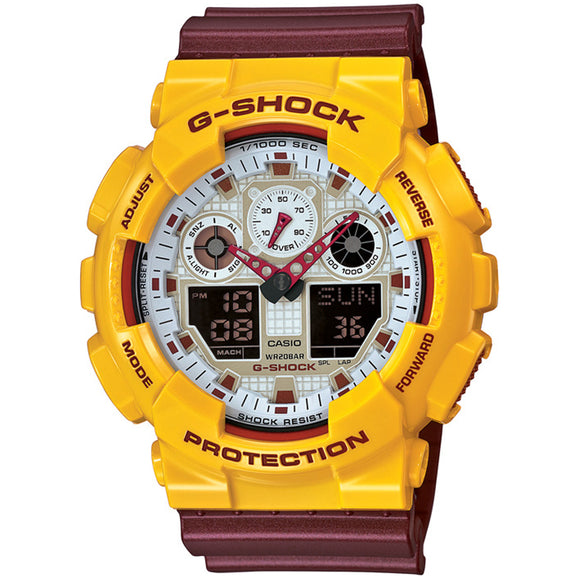 Casio G-SHOCK GA-100CS-9ADR - Watch it! Pte Ltd