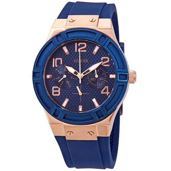 Guess GWW0571L1 Jet Setter Blue Dial Multifunction Ladies Watch - Watch it! Pte Ltd