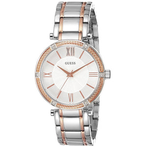Guess GWW0636L1 Park Ave Two-tone Ladies Watch - Watch it! Pte Ltd