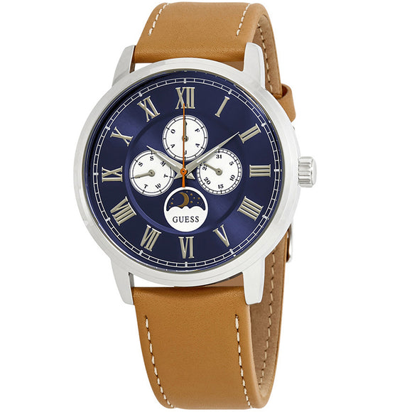Guess GWW0870G4 Delancy Blue Dial Multifunction Men's Watch - Watch it! Pte Ltd
