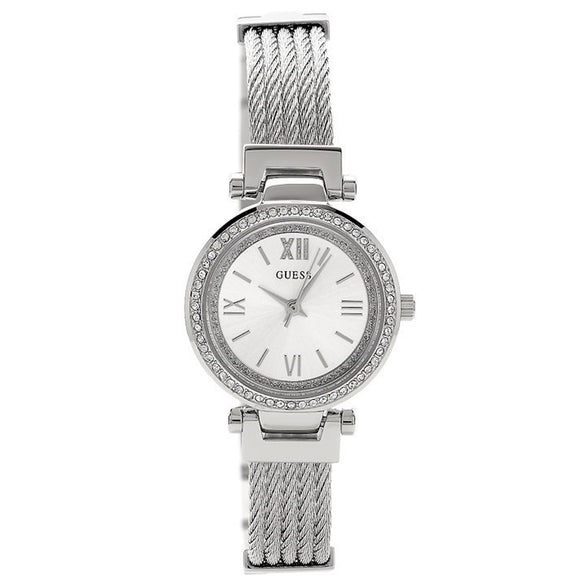 Guess GWW1009L1 Mini Soho Steel Mesh Strap Watch - Watch it! Pte Ltd