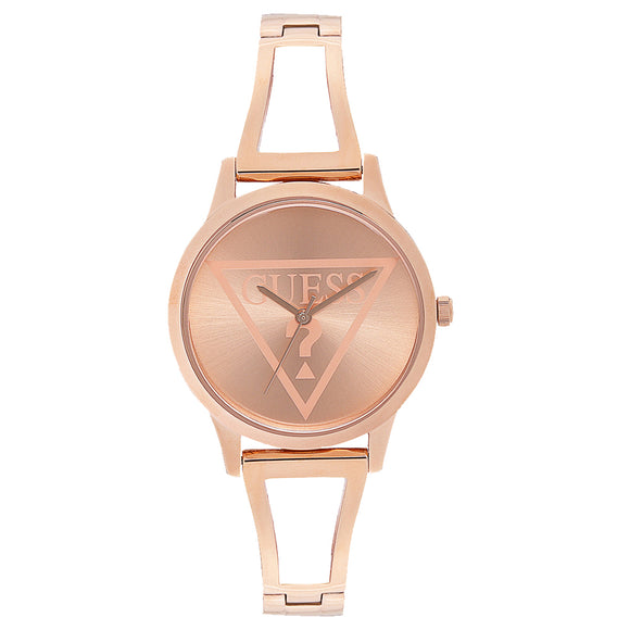Guess GWW1145L4 Lola Rose Gold Dial Ladies Watch - Watch it! Pte Ltd