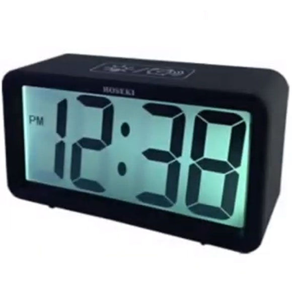 Hoseki H-2300 Black/White Digital Alarm Clock - Watch it! Pte Ltd