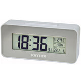 Rhythm Thermometer Alarm Clock LCT086NR03 - Watch it! Pte Ltd