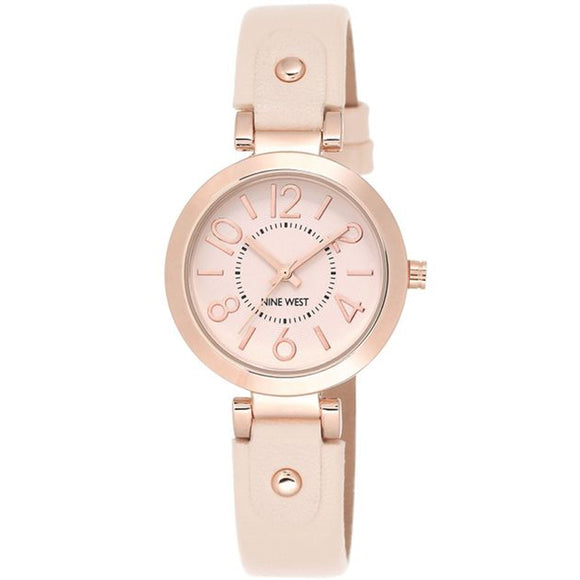 Nine West Rose Gold Ladies Dress Watch NW-1712PKRG - Watch it! Pte Ltd