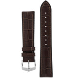 Hirsch PAUL Alligator Embossed Performance Watch Strap - Watch it! Pte Ltd