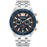 Police KEDIRI Dual Time Blue Dial Watch PL15995JSTBL/61M - Watch it! Pte Ltd