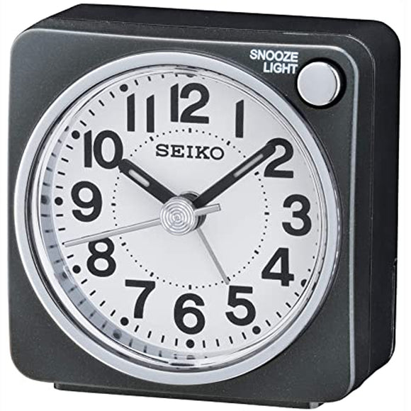SEIKO Desk Alarm Clock With Snooze & Light QHE118
