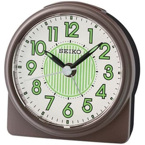 SEIKO Quiet Sweep & LumiBrite® Alarm Clock QHE177B - Watch it! Pte Ltd