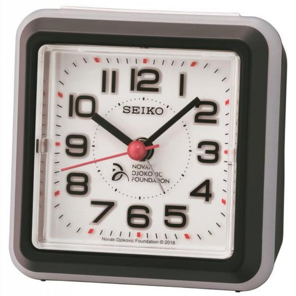 Seiko Novak Djokovic Alarm Clock QHE908K - Watch it! Pte Ltd