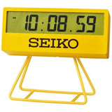 SEIKO Yellow Sports Style Clock QHL073Y - Watch it! Pte Ltd