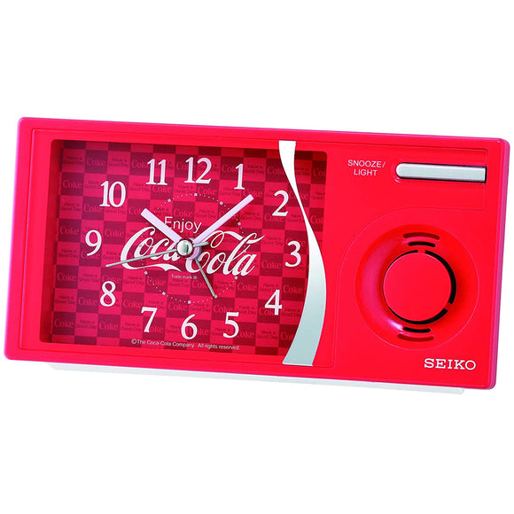 SEIKO Coca Cola Collection Alarm Clock QHP901 - Watch it! Pte Ltd