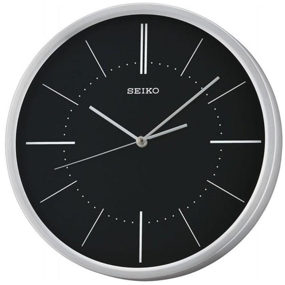 Seiko Modern Design Aluminium Wall Clock QXA714A - Watch it! Pte Ltd