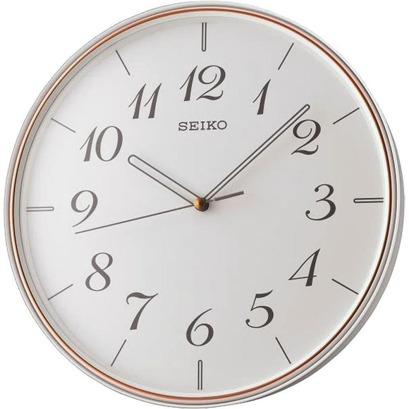 Seiko White Dial Decorative Wall clock QXA739W
