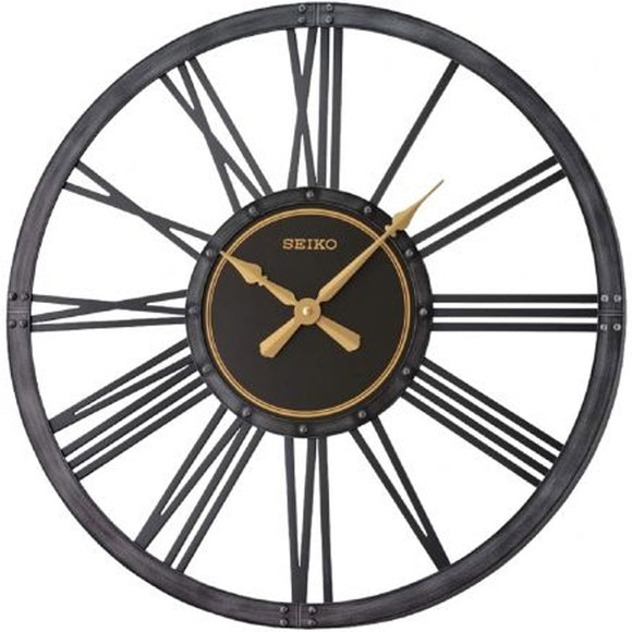 Seiko Bennett Farmhouse Inspired Wall Clock QXA764K