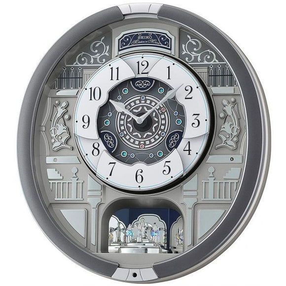 Seiko Melodies In Motion Wall Clock QXM366S - Watch it! Pte Ltd