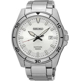 Seiko Quartz Sapphire Glass White Dial SGEH59P1 Men's Watch - Watch it! Pte Ltd