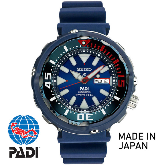 Seiko JAPAN Made Special Edition PADI Tuna SRPA83J1 - Watch it! Pte Ltd