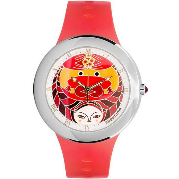 "Appetime watch ""Horoscope"" collection, Cancer (Crab) – SVJ211141 - Watch it! Pte Ltd"