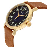 Timex STANDARD 40mm Leather Strap Watch TW2T20000 - Watch it! Pte Ltd
