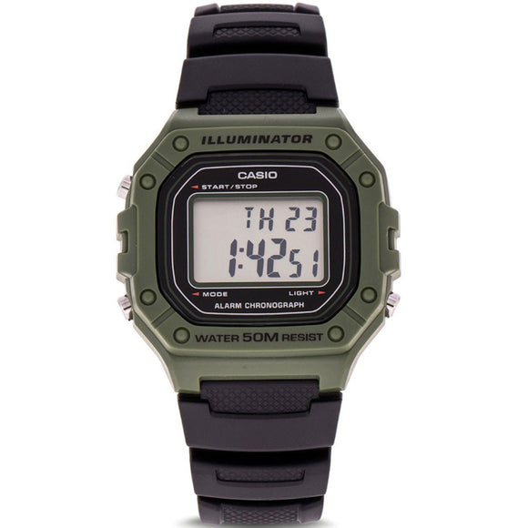 Casio CLASSIC W-218H-3AVDF - Watch it! Pte Ltd