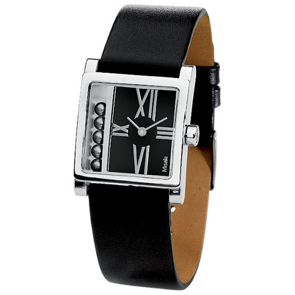 Misaki Ladies BLACKJACK Pearl Leather Watch - Watch it! Pte Ltd