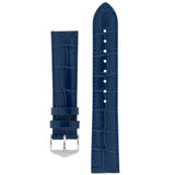 Hirsch LOUISIANALOOK Alligator Embossed Leather Watch Strap - Watch it! Pte Ltd