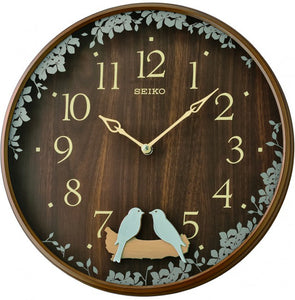 Seiko Wall Clock with Swinging bird pendulum - Watch it! Pte Ltd