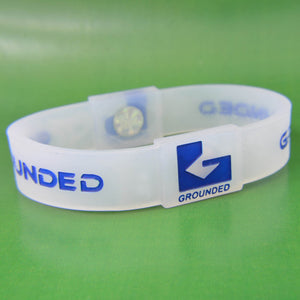 Grounded Energetic Wristband (Translucent/Blue) - Watch it! Pte Ltd