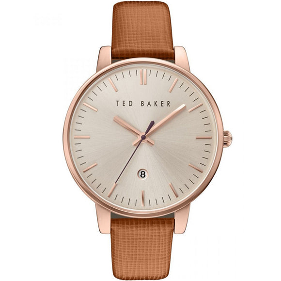 Ted Baker Ladies' Kate Saffiano Leather Strap Watch TE10030738 - Watch it! Pte Ltd