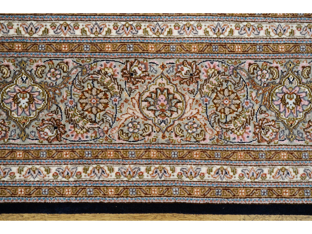 Fine Mahi Tabriz Carpet - Rugs of Petworth