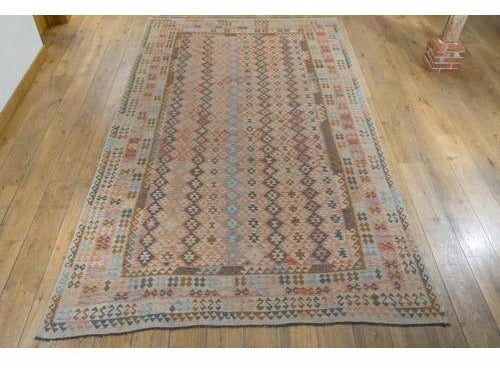 Large Kundoz Kilim Carpet - Rugs of Petworth