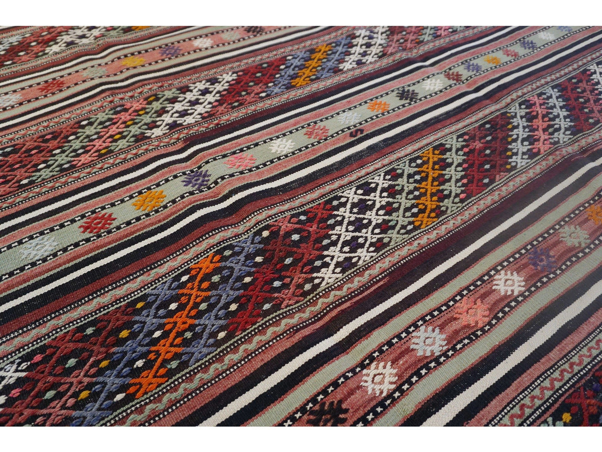 Canakkale Kilim Rug - Rugs of Petworth
