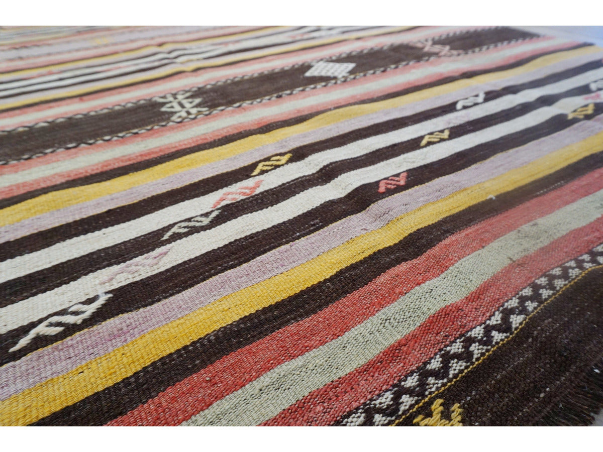 Mugla Kilim Rug - Rugs of Petworth