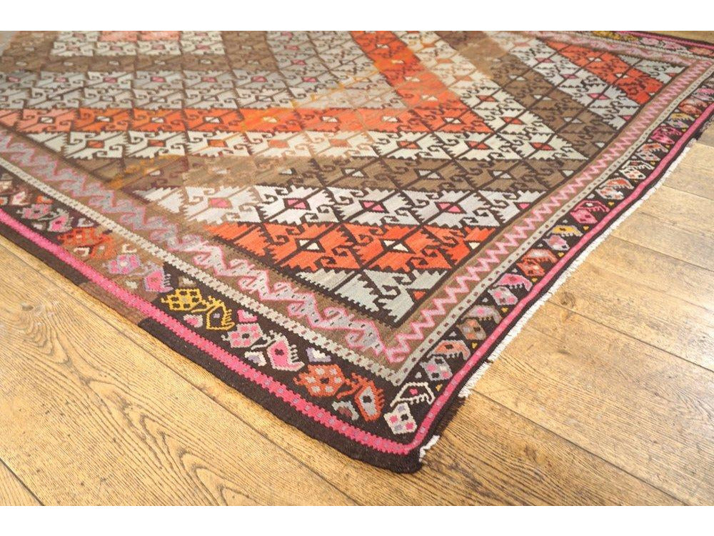 Divirgi Kilim Carpet - Rugs of Petworth