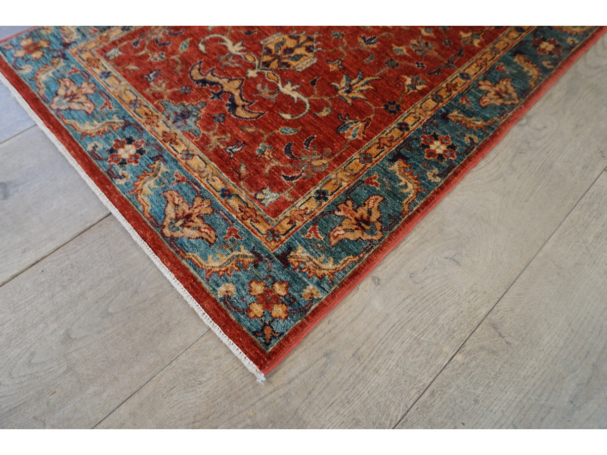 Fine Sheberghan Rug - Rugs of Petworth