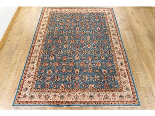 Large Fine Sheberghan Carpet - Rugs of Petworth