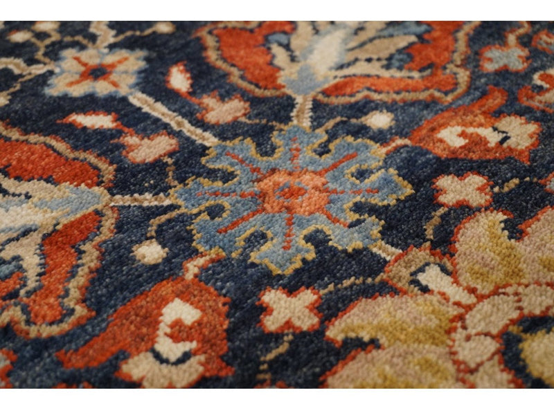 Classic Bhadohi Runner - Rugs of Petworth