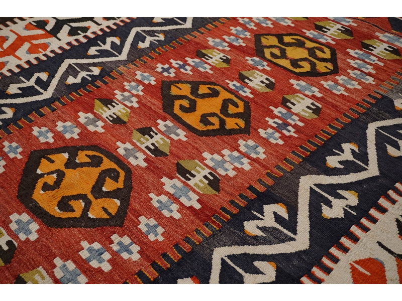 Vintage Yarn Kilim Rug - Rugs of Petworth