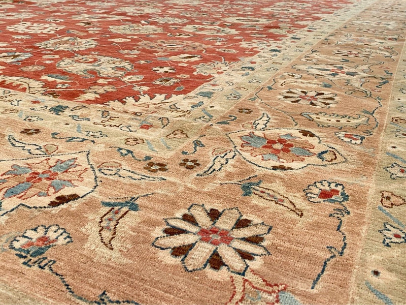 Large Fine Sultanabad Rug