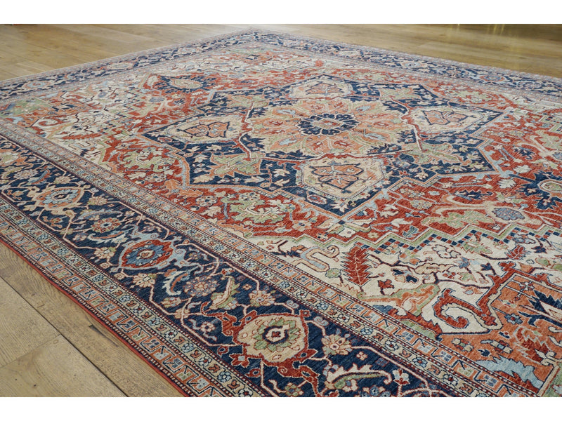 Large Fine Sultanabad Carpet - Rugs of Petworth