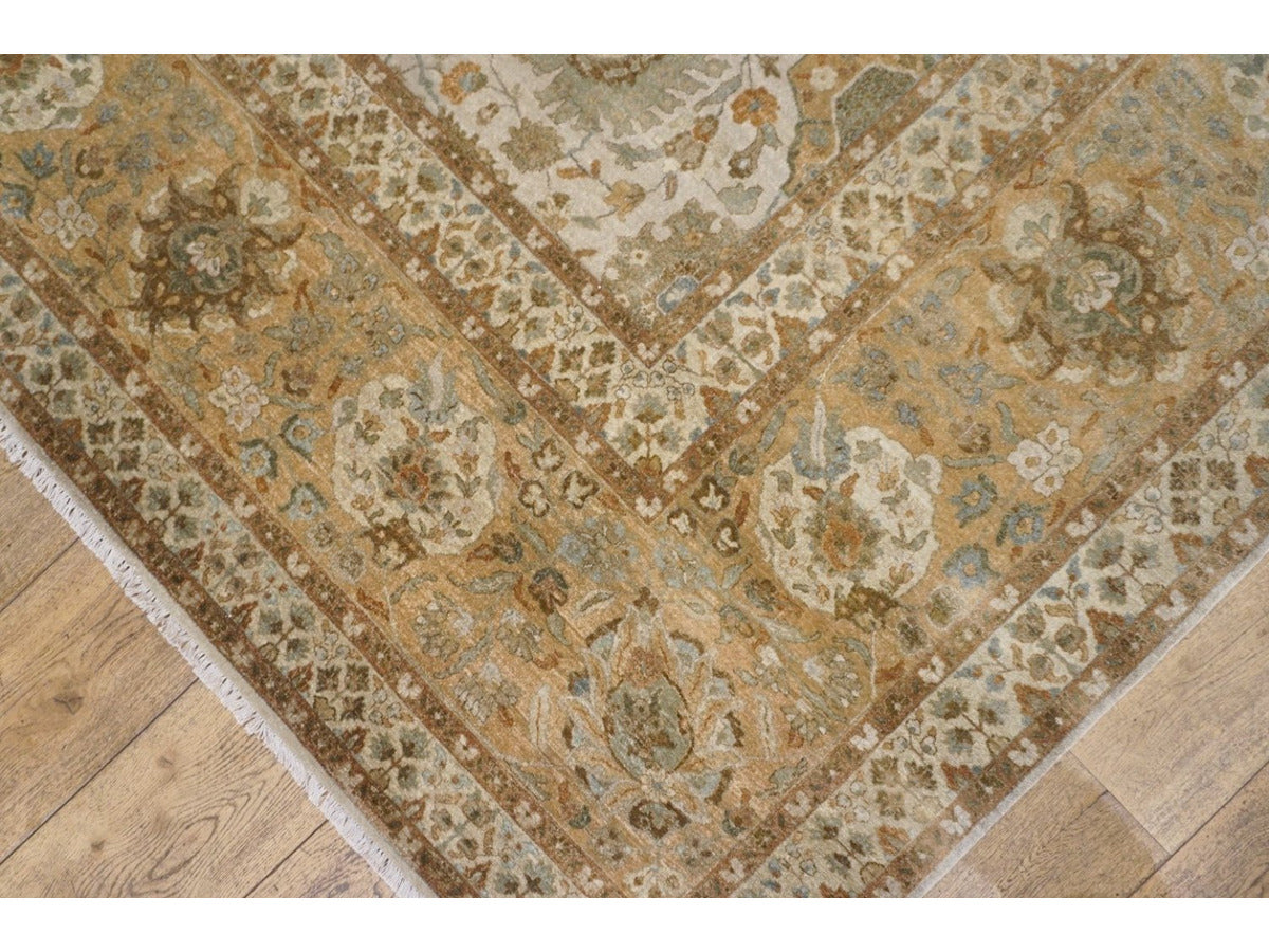 Large Fine Bhadohi Carpet - Rugs of Petworth
