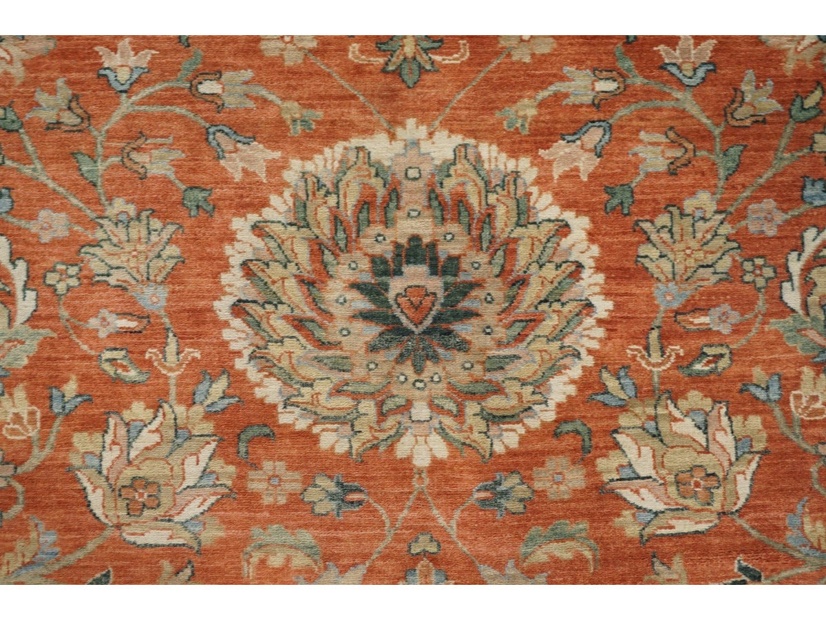 Large Classic Bhadohi Carpet - Rugs of Petworth