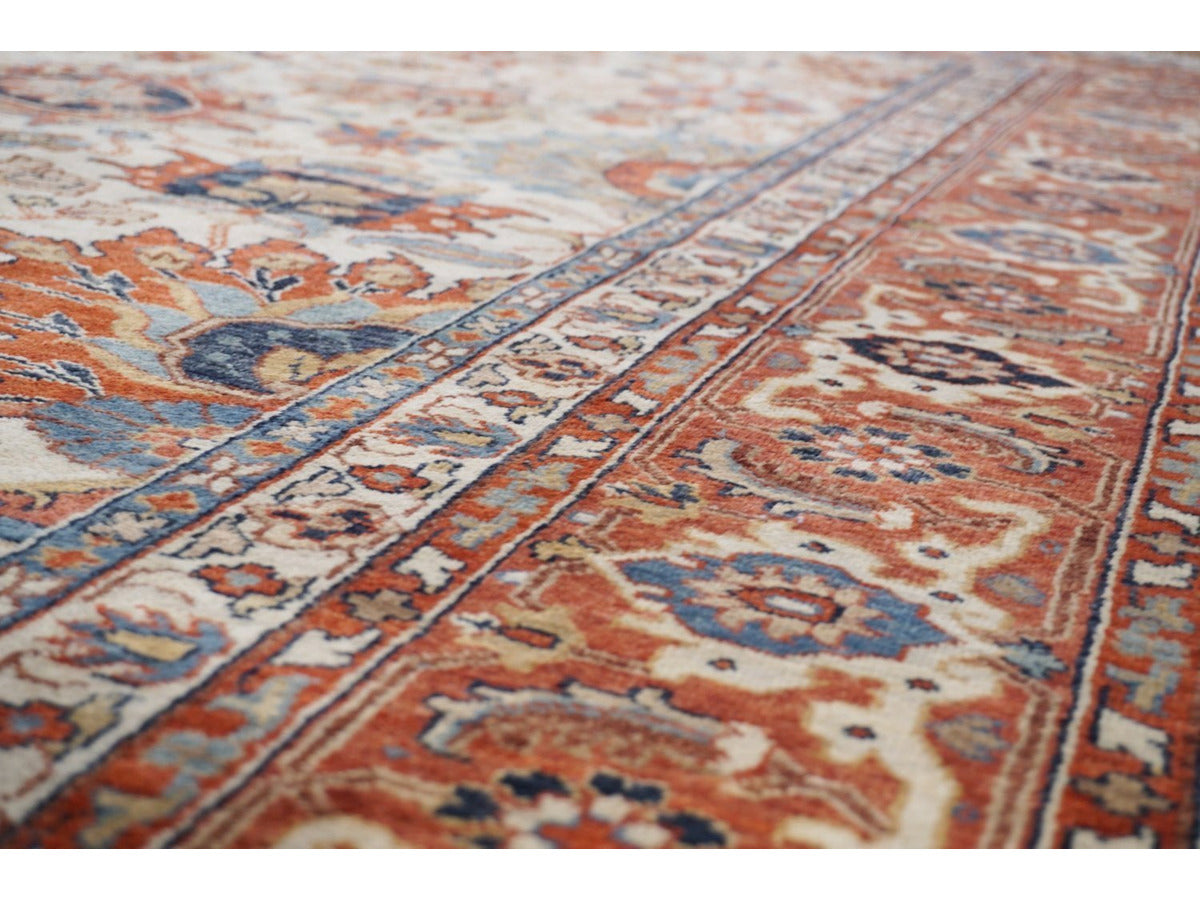 Classic Bhadohi Carpet - Rugs of Petworth