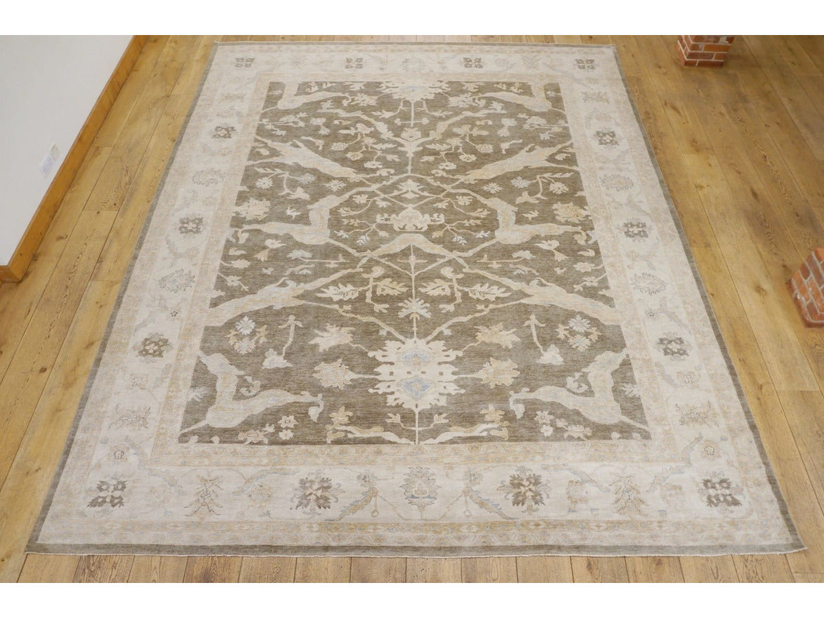 Large Oushak Carpet - Rugs of Petworth