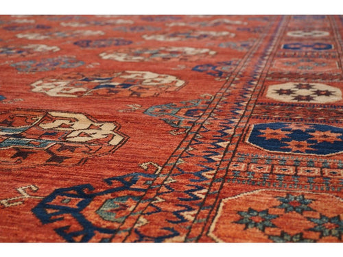 Large Turkoman Carpet - Rugs of Petworth