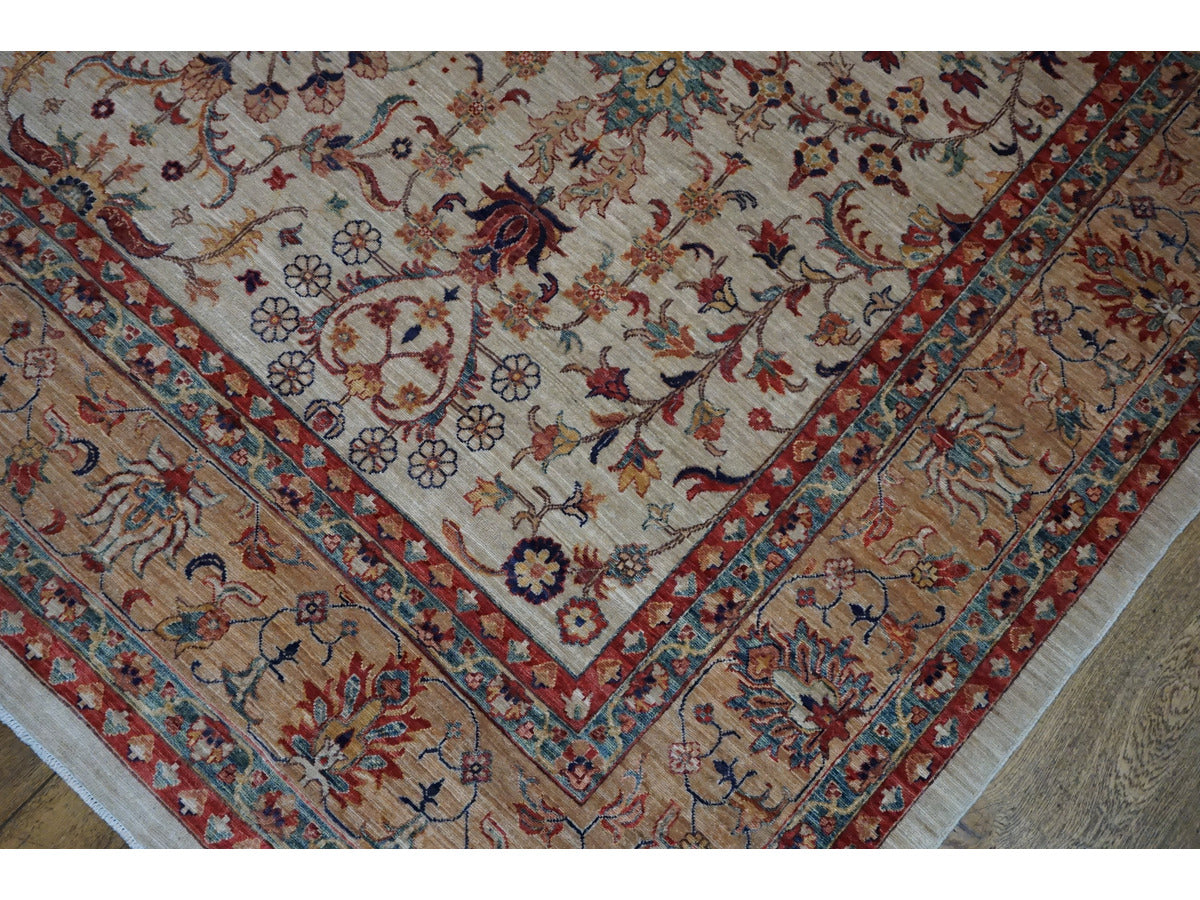 Fine Sheberghan Carpet - Rugs of Petworth