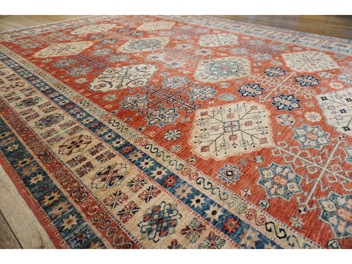 Ghazni Kazak Carpet - Rugs of Petworth