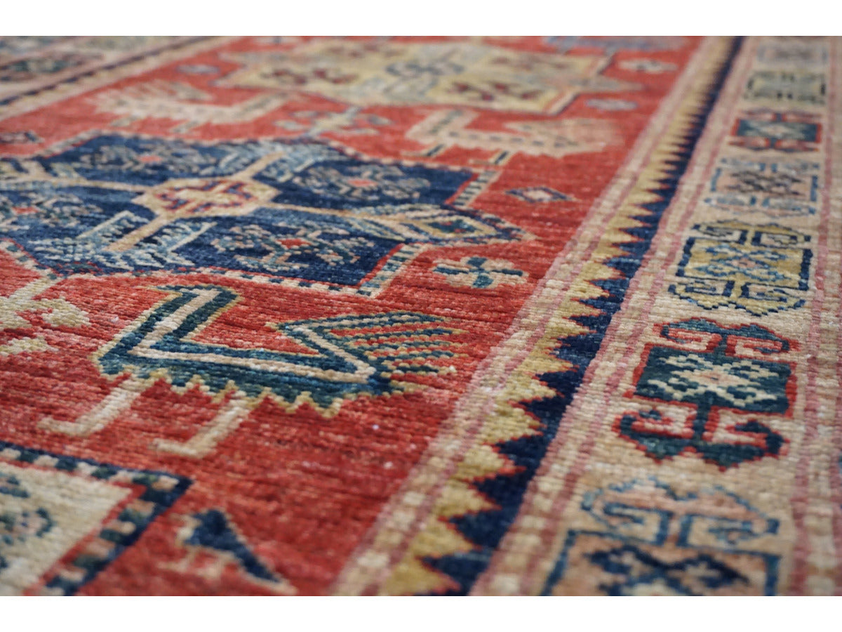 Ghazni Kazak Runner - Rugs of Petworth