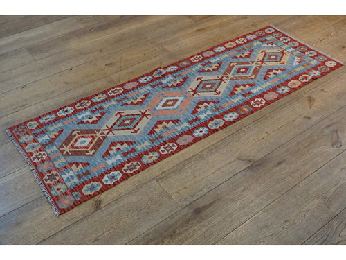 Kundoz Kilim Runner - Rugs of Petworth